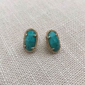 Kendra Scott Ellie Turquoise Earrings